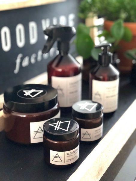 GOOD VIBE FACTORY aromatherapie display