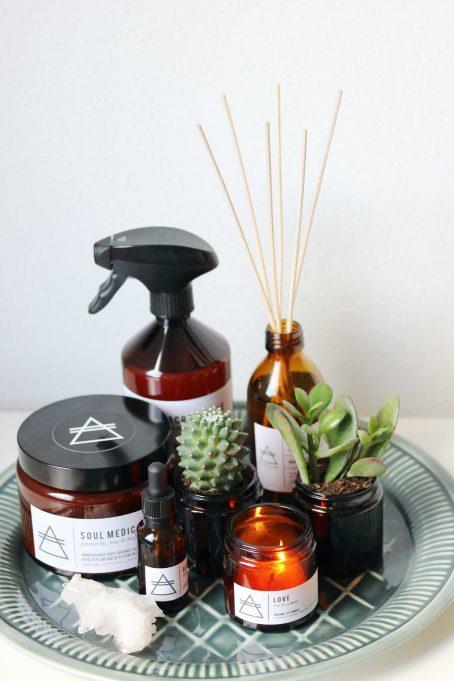 GOOD VIBE FACTORY geurproducten gift sets