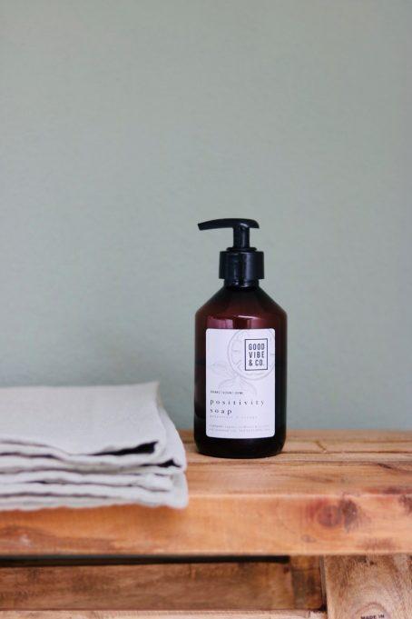 Organic Vegan Positivity Soap by Good Vibe & Co.