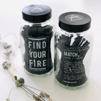 Candle Matches – FIND YOUR FIRE (Clear Glass)
