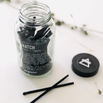 Candle Matches – PERFECT MATCH (Clear Glass)