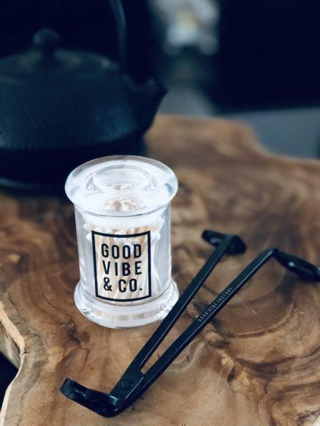 Good Vibe & Co. matches white