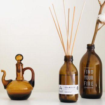 SOUL MEDICINE Organic Aromatherapy Reed Diffuser (Geurstokjes) 200ml