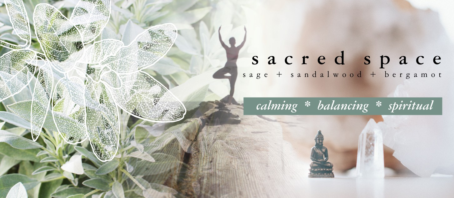 GOOD VIBE & CO banner sacred space scent
