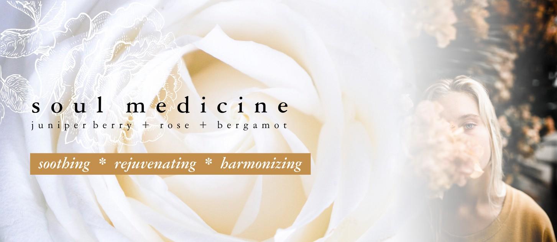 GOOD VIBE & CO banner soul medicine scent