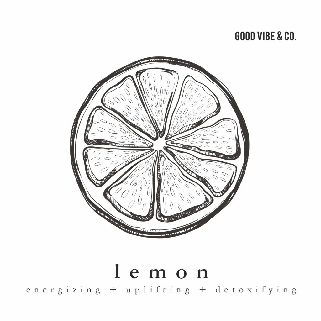 lemon essential oil by Good Vibe & Co