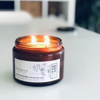 Aromatherapie Sojakaars 'BALANCE' 500ML