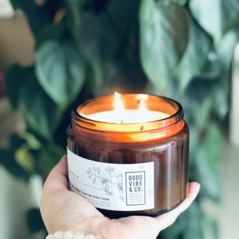 Aromatherapie geurkaars VITALITY 500ml