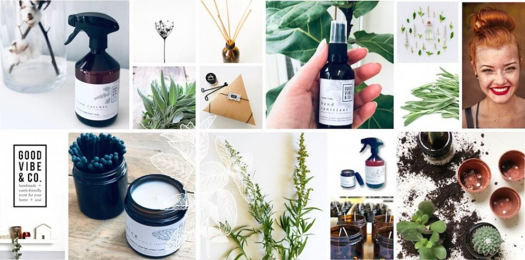 GOOD VIBE & CO home and body fragrances and accessories