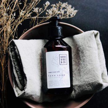 Organic Soap LOVE (natuurlijke zeep) 300ml