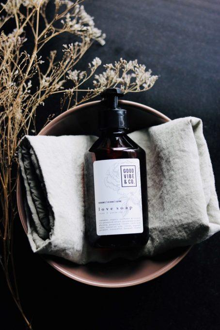Organic LOVE Soap by Good Vibe & Co. vegan