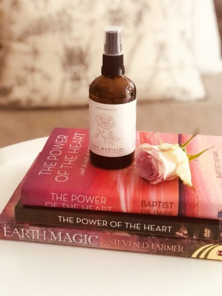 Sfeer Mist Soul Medicine botanical met roos essentiële olie